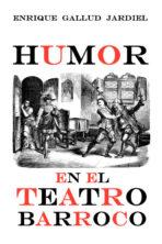 Humor en el teatro barroco