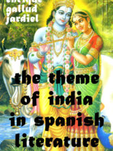 The Theme of India in Spanish Literature