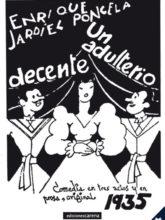 Edición de «Un adulterio decente», de Enrique Jardiel Poncela